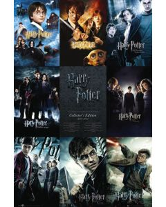 Harry Potter 1-7 - Movie Poster