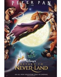 Peter Pan Return To Neverland - Movie Poster