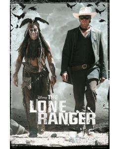 The Lone Ranger - Movie Poster
