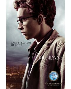 The Mortal Instruments: City of Bones - Movie Poster