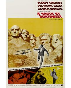 North By Northwest - Movie Poster