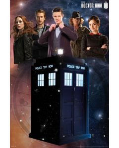 Doctor Who - Glow in the Dark Poster