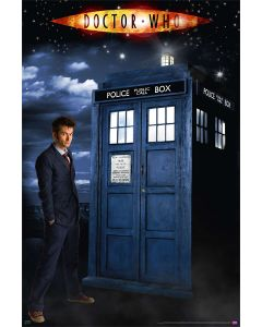 Doctor Who - Glow In The Dark - Poster Set