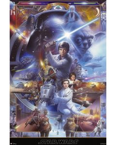 Star Wars: Episode IV, V & VI - Movie Poster