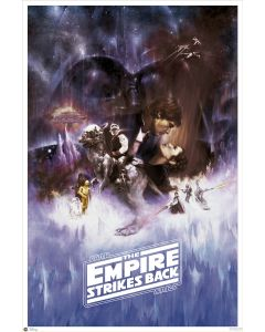 Star Wars: Episode V - The Empire Strikes Back - Movie Poster