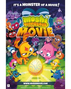 The Moshi Monsters Movie - Movie Poster