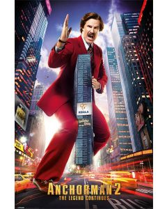 Anchorman 2 - Movie Poster