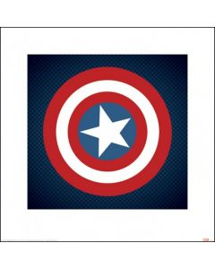 Captain America - Art Print