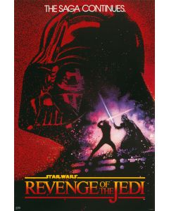 Star Wars: Episode VI - Revenge Of The Sith - Movie Poster