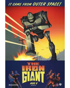 The Iron Giant - Movie Poster