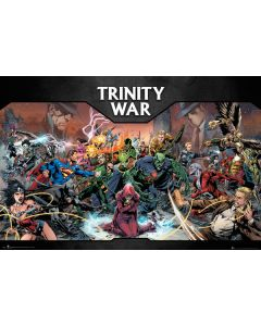 DC Comics - Trinity War - Comic Poster