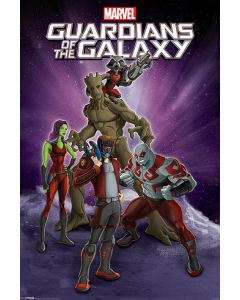 Guardians Of The Galaxy - Comic Poster