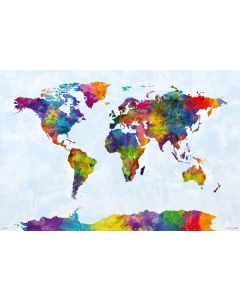 Map Of The World - Art Poster