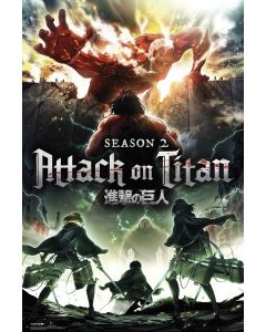 Attack On Titan - TV Show Poster