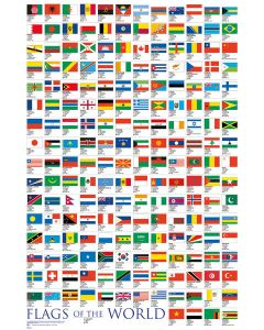 Flags Of The World - Poster