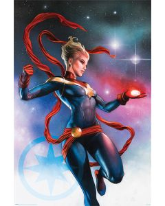 Captain Marvel - Comic Poster