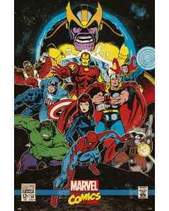 Marvel Heroes - Comic Poster