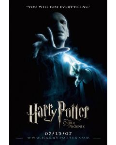 Harry Potter and the Order of the Phonix - Movie Poster