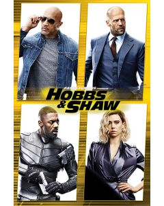 Fast & Furious: Hobbs & Shaw - Movie Poster