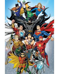 Justice League Of America - Comic Poster