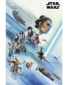 Star Wars: Episode IX - The Rise Of Skywalker - Movie Poster