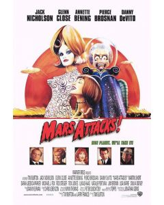 Mars Attacks! - Movie Poster