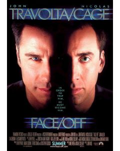 Face / Off - Movie Poster
