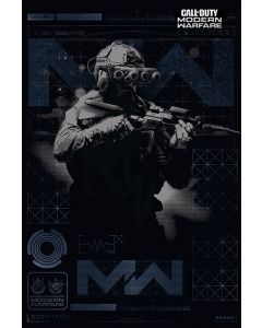 Call Of Duty: Modern Warfare - Gaming Poster