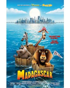 Madagascar - Movie Poster