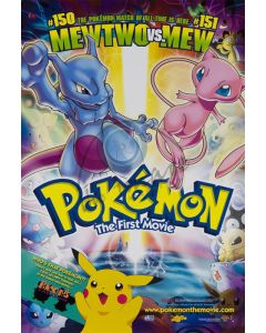 Pokemon - The First Movie - Movie Poster