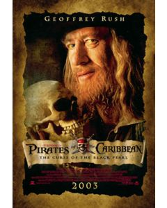 Pirates of the Caribbean - Movie Poster