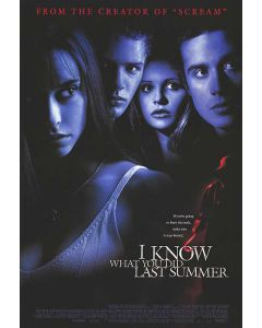 I Know What You Did Last Summer - Movie Poster
