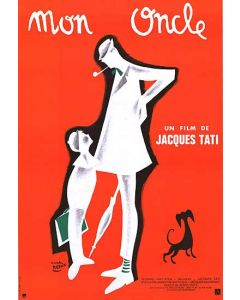 My Uncle Mr Hulot - Movie Poster