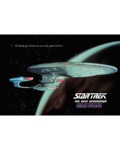 Star Trek - TV Show Postcard