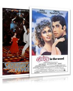 Grease & Saturday Night Fever - Movie Poster Set