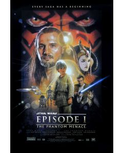 Star Wars: Episode I, II, III, IV, V, VI - Movie Poster Set