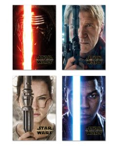 Star Wars: Episode VII - The Force Awakens - Movie Poster Set