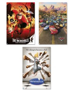 Pixar Favorites - Movie Poster Set