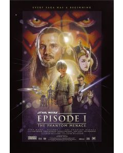 Star Wars: Episode I, II, III, IV, V, VI, VII & Rogue One - Movie Poster Set
