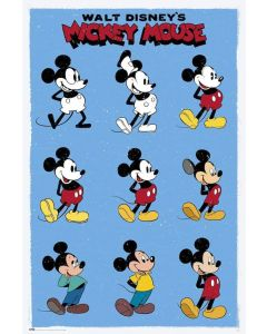 Mickey & Minnie Mouse - TV Show Poster Set