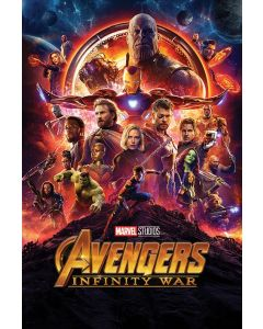 Avengers Infinity War & Endgame - Movie Poster Set
