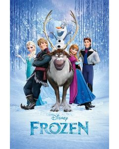 Frozen 1 & 2 - Movie Poster Set