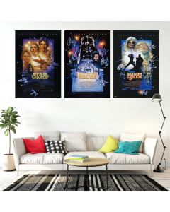 Star Wars Episode IV, V, VI - Movie Poster Set