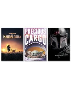 Star Wars: The Mandalorian- TV Show Poster Set