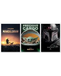 The Mandalorian- TV Show Poster Set