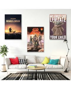 The Mandalorian - TV Show Poster Set