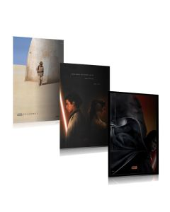 Star Wars: Episode I, II, III - Movie Poster Set